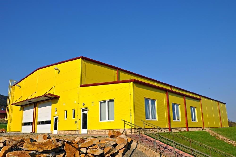 Výstavba hlavní skladovací budovy č. II